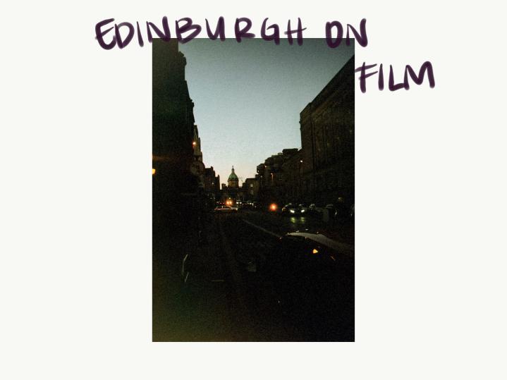 Edinburgh on film.